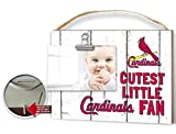 "KH Sports Fan 10""x8"" Weathered St. Louis Cardinals Clip It Baby Logo Photo Frame"