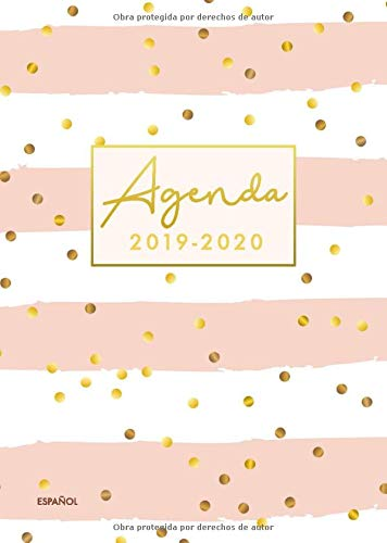 agenda 2019-2020 español: Organiza tu día - Agenda semanal 18 meses - Julio 2019 a Diciembre 2020 por Papeterie Collectif