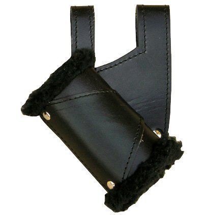Sword Holder black leather handed product image