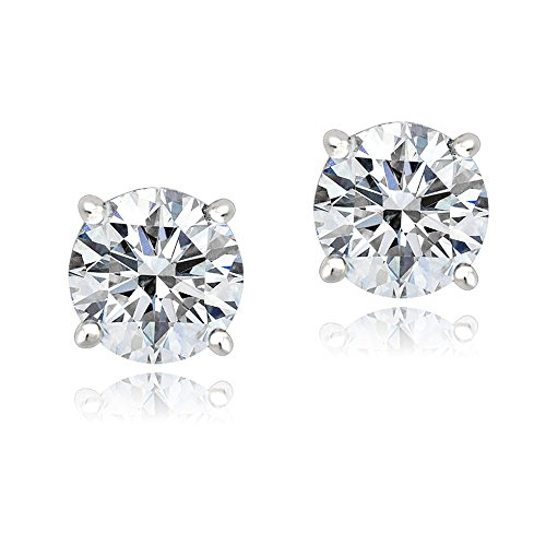 platinum-flashed-silver-100-facets-cubic-zirconia-solitaire-stud-earrings-3cttw