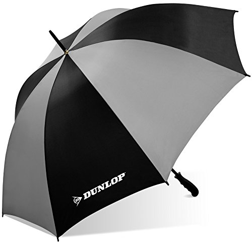 affordable Dunlop Jumbo Golf Umbrella-Ms-56dl Blkgry, Black/Gray