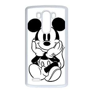 LG G3 case , Mikey Mouse Cell phone case White for LG G3 - LLKK0797637