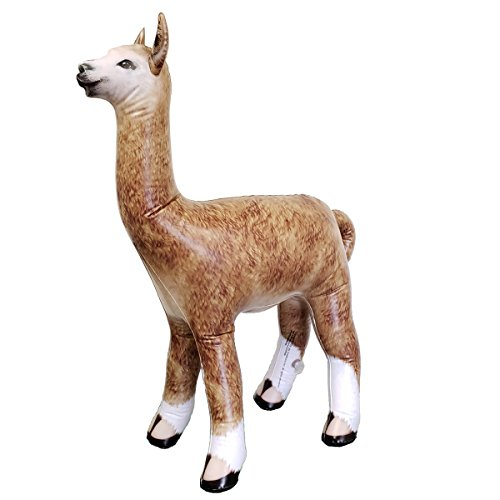 Jet Creations an-Alpa Inflatable Alpaca 30 Inch Height-Party Favors Supplies, Gifts, Great for Home Decor, Accents for Kids and Adult, 30'' by Jet Creations