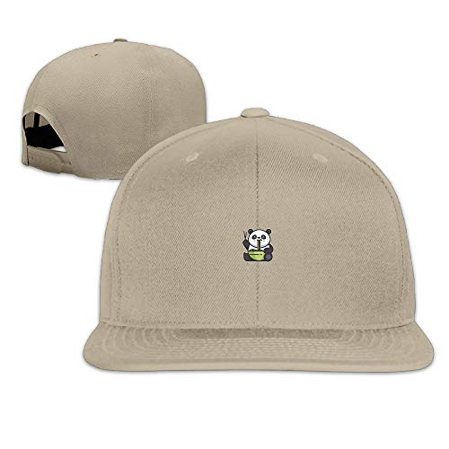 Nordic Runes Panda Cute Funny Snapback Hats for Men Fitted Baseball Cap for Youth