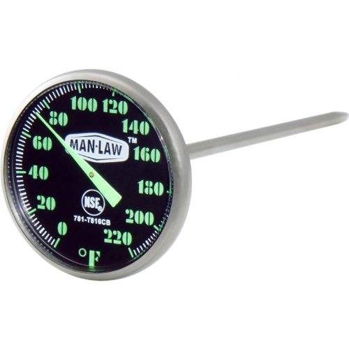 MAN LAW BBQ Stainless Thermometer