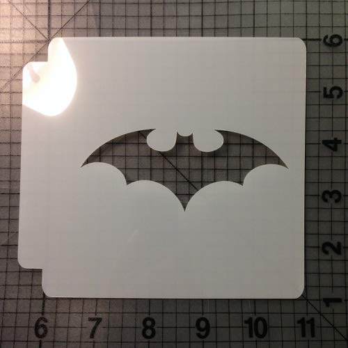 Bat Stencil 102 (4 Inches) -