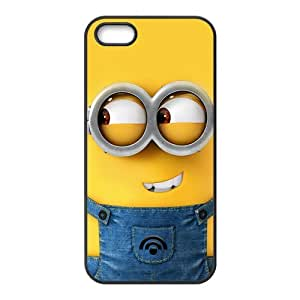 Minions Pegman Black iPhone 5S case