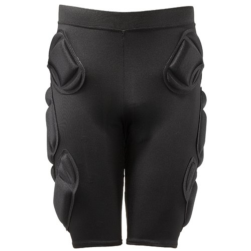 Crash Pads 2500 Padded Shorts with Tail Shield for Snowboard / Ski / Skateboard - XLarge (38-42 inches)