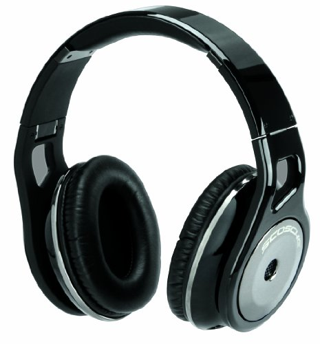 - Scosche RH1056MD Over-The-Ear Headphones (Black)