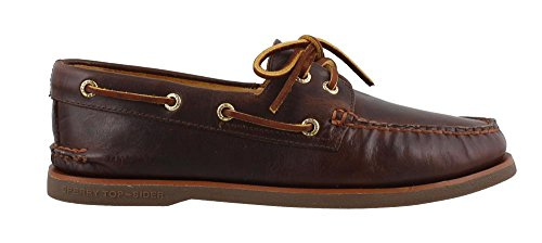 Sperry Men's Topsider, Authentic Original Orleans Boat Shoe Brown 9.5 M