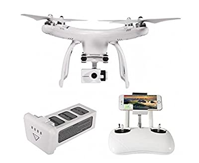 UPair One Plus 4K Mobile App Version Video Camera Drone, 5.8G RC Quadcopter, Automatic Return Home, One key Take off/ Land on, Follow me Mode, Flight Plan, Aerial Photography Beginner Drone