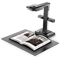 CZUR ET16 Plus Book and Document Smart Scanner with Hand & Foot Pedal for Mac and Windows