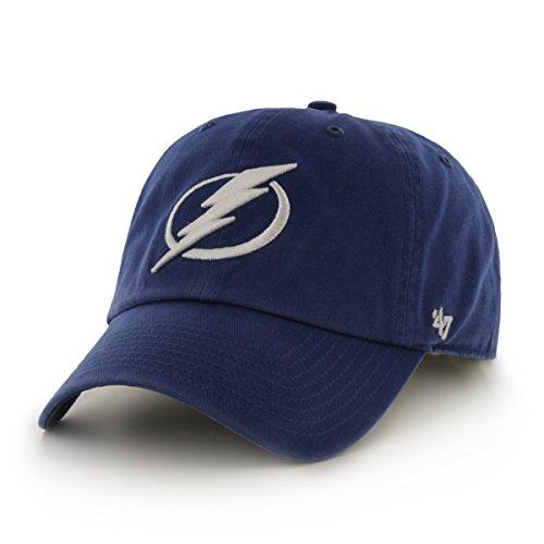 '47 NHL Tampa Bay Lightning Clean Up Adjustable Hat, One Size, Royal
