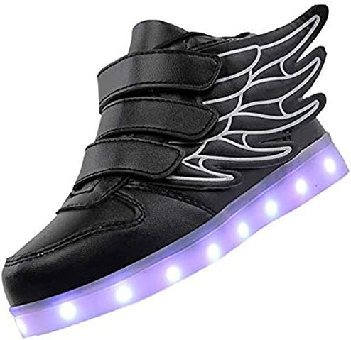 Sneaker Trainer with USB Charging Wing