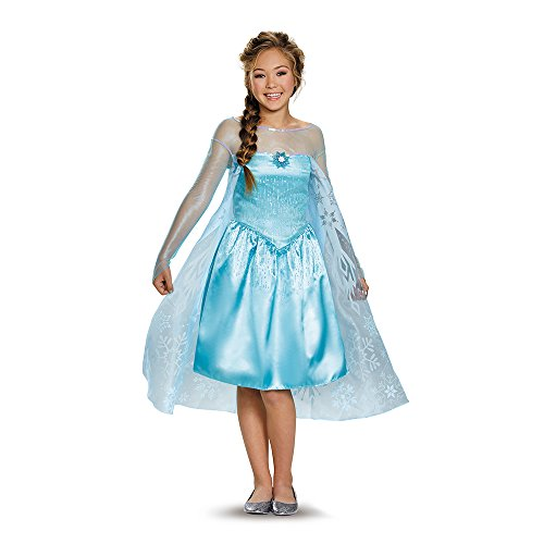 Elsa Tween Costume, Large (10-12)