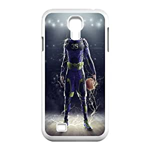 Kevin Durant Samsung Galaxy S4 9500 Cell Phone Case WhiteU0694638