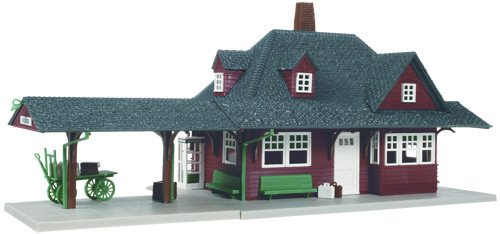ATLAS MODEL 706 Passenger Station Kit HO (Ho Buildings Train)