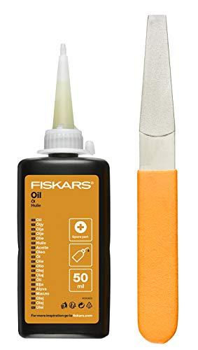 Fiskars Kit de mantenimiento, Para herramientas de corte de jardín, 1001640