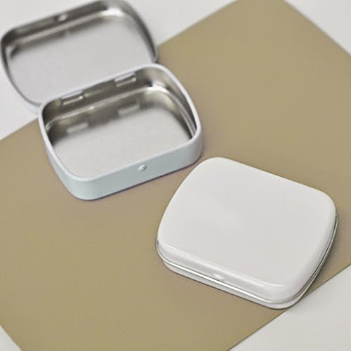 100 DIY Blank Mint Tins