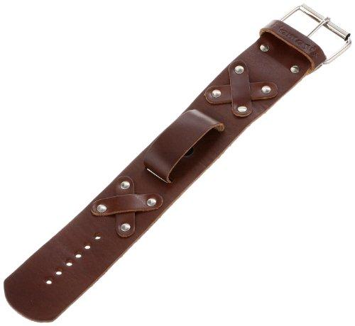 Nemesis BXB 38-mm Leather Cuff Band X Brown 18-20mm Lug Watch Strap