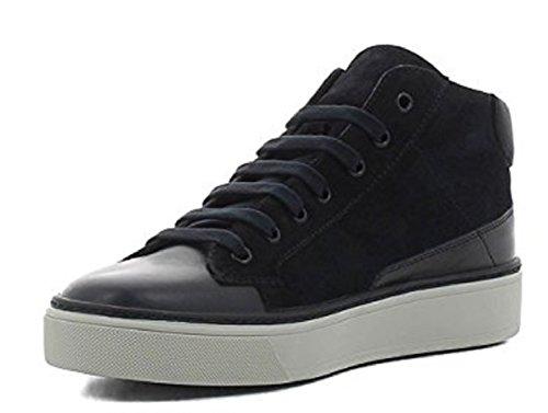 FRAU Sneaker Uomo 20F7 Camoscio e Pelle Blu