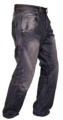 Motocicletta Corazza Pantaloni Di Denim Jeans Il Con Fodera Newfacelook Protezione Aramide tw4fg