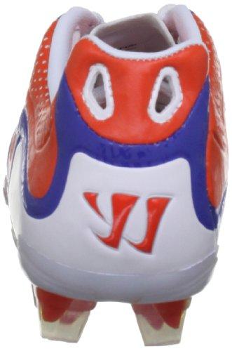 Warrior Skreamer Combat Firm Ground B - Zapatillas de fútbol Niños Spicy Orange/Baja Blue/White