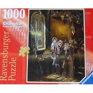 - CHANUKAH FESTIVAL OF LIGHTS 1000 Piece Puzzle No. 81959 by Ravensburger. 20