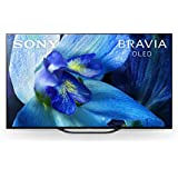 Sony XBR-55A8G 55 Inch TV: BRAVIA OLED 4K Ultra HD Smart TV with HDR and Alexa Compatibility - 2019 Model