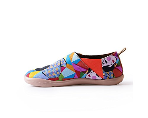 Uin Womens Rainbow Girl Beautiful Travel Mocassini Scarpe Multicolor