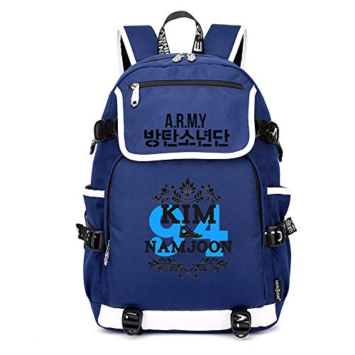 Scuola Bts Da Casual Borsa Moda Unisex Zainetto College Zaino Blue04 Backpack xgqwXO7R5