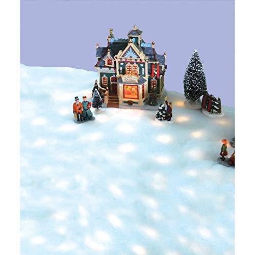 42 LED Snow Blanket for Christmas Village Displays - Clear Lights