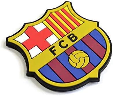 FCB FC Barcelona - Imán para la nevera con el escudo oficial de FC Barcelona (Talla Única) (azul/grana): Amazon.es: Ropa y accesorios