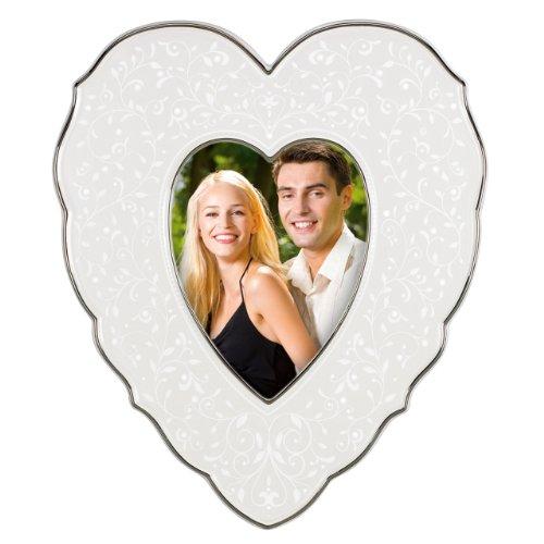 Lenox Opal Frame - Lenox Picture Frame, Opal Innocence Heart 4