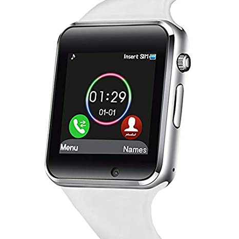 321OU Smart Watch Touch Screen Bluetooth Smart Watch Smartwatch Phone Fitness Tracker SIM SD Card Slot Camera Pedometer Compatible iPhone iOS Samsung ...
