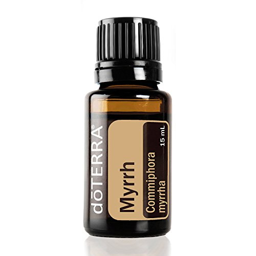 doTERRA - Myrrh Essential Oil - Cleansing Properties for Mouth and Throat, Soothing to Skin, Promotes Smooth, Youthful Complexion, Emotional Balance; For Diffusion, Internal, and Topical Use - 15 ml