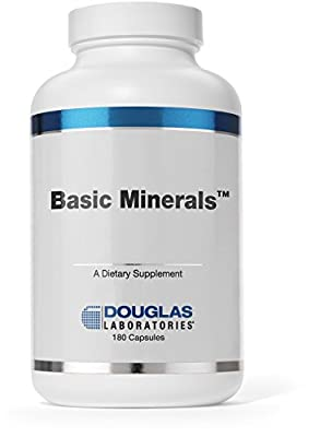 Douglas Laboratories® - Basic Minerals - Iron Free Mineral / Trace Element Formula to Support Overall Health* - 180 Capsules