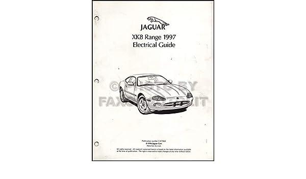 1997 jaguar xj6 electrical guide wiring diagram original paperback – 1997