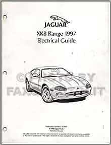 1997 Jaguar XJ6 Electrical Guide Wiring Diagram Original ...