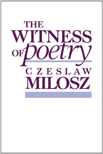 The Witness of Poetry (The Charles Eliot Norton Lectures) [Czeslaw Milosz] (Tapa Blanda)