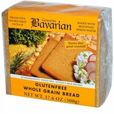 Genuine Bavarian Whole Grain Bread, 17.6 Ounce -- 6 per case. (Bread Grain Gluten Free Whole)