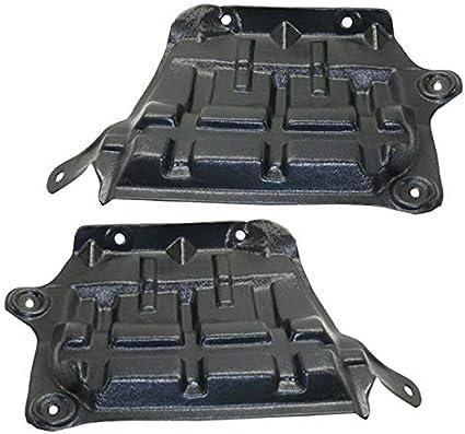 Koolzap For 16-18 Maxima Front Splash Shield Inner Fender Liner w//Insulation SET PAIR