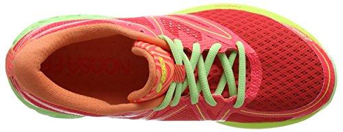 Asics Noosa FF, Scarpe da Ginnastica Donna Multicolore (Diva Pink/Paradise Green/Melon)