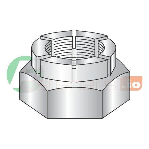 5/16''-18 Flexloc Light Hex, Thin Height All Metal Locknut, Steel, Plain (Quantity: 1) by Newport Fasteners