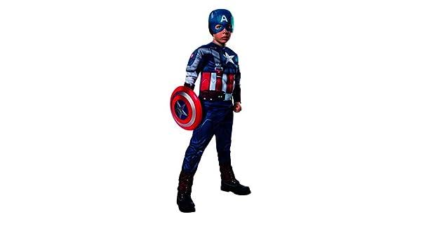 Amazon.com: Rubies Captain America Retro Suit L: Clothing