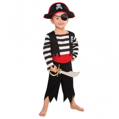 Children Rascal Deckhand Pirate Costume - Age 4-6 years - 1 PC by Star ()