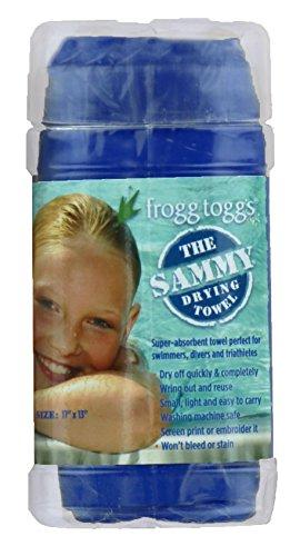 (Frogg Toggs Sammy Chammy Drying Towel, Varsity Blue)