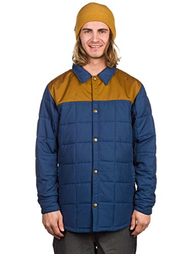 camiseta marino de marino para snowboard azul Azul Ster acolchada hombre Airbla Chaqueta dYqAxFzq