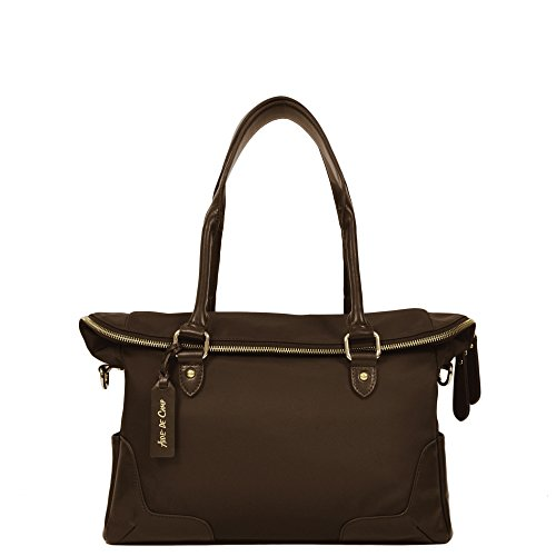 Aide de Camp Leyden - Stylish Women's Camera Handbag with Removable Insert (Sable Brown) by Aide de Camp