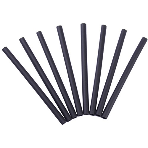 032076561871 - Gardner Bender HST-187 Heat Shrink Tubing, 3/16 x 4 Inch., 2:1 Shrink Ratio, 3/32 Inch., 600 V, Cable Insulation / Marking / Mechanical / Flame Retardant & Moisture Protection, 8 Pk., Black carousel main 0
